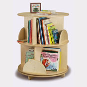 Two Level Carousel Book Stand, P30247