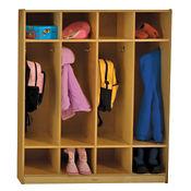Coat Locker with Shelves, P30260