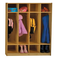 Coat Locker with Shelves, P30260
