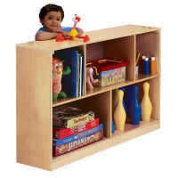 Storage Cabinet with Straight Back, P30266