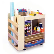 Mobile Art Supply Cart, P30268