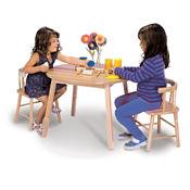 "Hardwood Chair - 12""H, P30271"