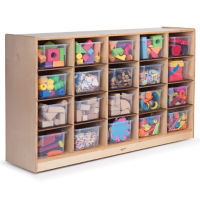 Cubby Storage Cabinet with 20 Trays, P30325