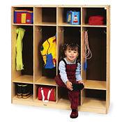 Four Section Coat Locker, P30327