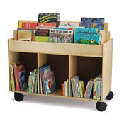Mobile Book Storage Cart, P30333