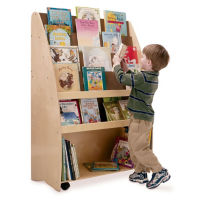 New Wave 2 Sided Portable Book Cart, P30335