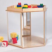 Hexagon Mirror Play Center, P30347