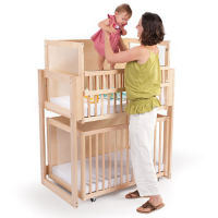 Dual Level Stacking Crib, P30390