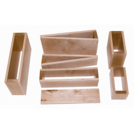 18 Piece Hollow Block Set, V21531