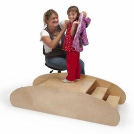 Reversible Dressing Bench and Rocking Boat, V21557