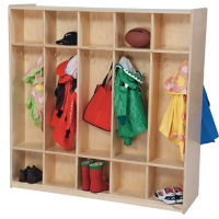 10 Section Double Sided Locker, B32110