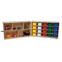 20 Opening Cubby With Trays, D59014