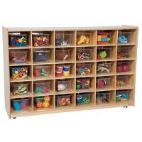 Cubbie Storage Cabinet with 30 Openings, P30091
