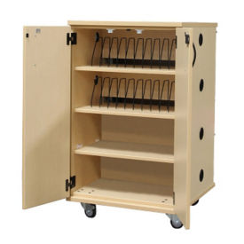 Laminate 24 Unit Charging Cart , E10024