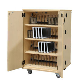Laminate 48 Unit Charging Cart , E10026