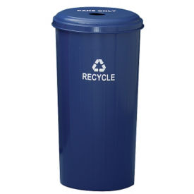 Round Top Recycling Container, F10153
