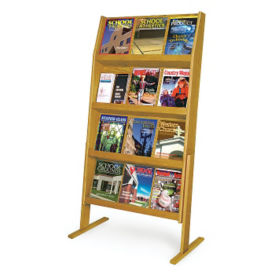 Display Rack with 24 Pockets, L40298