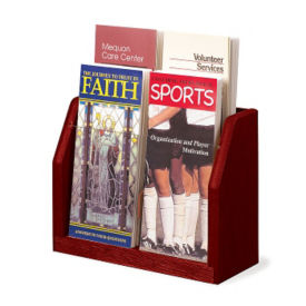 8 Brochure Pocket Literature Rack, L40305