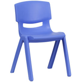 "Plastic 13.25""H Armless Stack Chair, C70048"