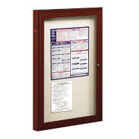 "Outdoor Bulletin Board 24"" x 36"", B20817"