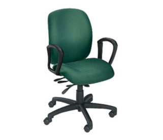 Mid Back Chair for 24 Hour Use, C80041