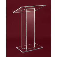 Large Top Clear Acrylic Lectern, M10172