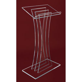 Contemporary Acrylic Lectern, M10173