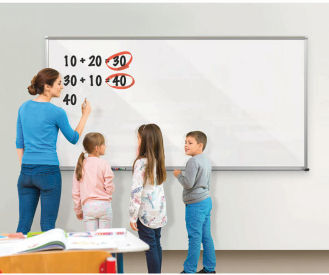 Projection Glass Dry Erase Board 6' x 4', B20118