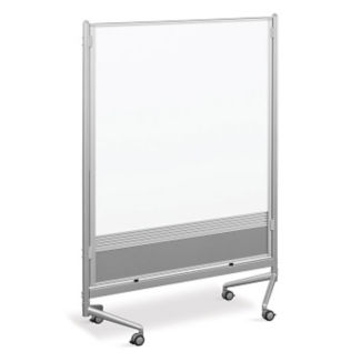 Whiteboard/Whiteboard Mobile Partition 4' x 6', B23190