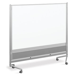 Whiteboard/Whiteboard Mobile Partition 6' x 6', B23191