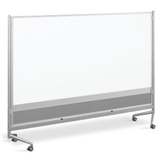 Whiteboard/Cork Board Mobile Partitions 8' x 6', B23195
