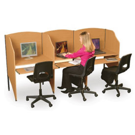Complete Study Carrel Set, E10122