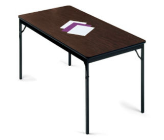 "Folding Utility Table 30"" Wide x 60"" Long, T10473"