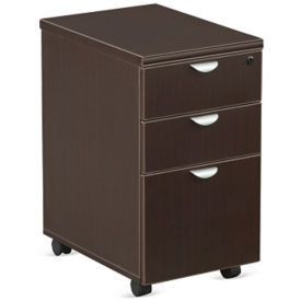 "Three Drawer Mobile Pedestal - 16""W , L40013"