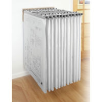 Wall Rack for Large Document Storage, B30612