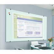 Glass Projection Dry Erase Board 6' x 4', B23189