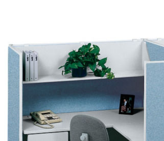"36""W Open Hanging Steel Shelf, F41200"