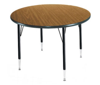 "Adjustable Height Round Table 60"" Diameter, A10962"