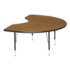 "Kidney Shape Activity Table 48"" x 96"", A10952"