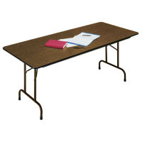 "Fixed Height Folding Table 24"" Wide x 72"" Long, D41054"