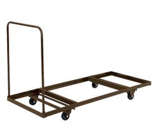 """Flat Folding Table Truck 30""""W x 72""""D, D41255"""