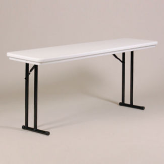 "72""W x 18""D Blow-Molded Folding Table, T11229"