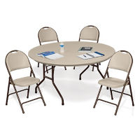 Lightweight Folding Table and Chair Set, T11349
