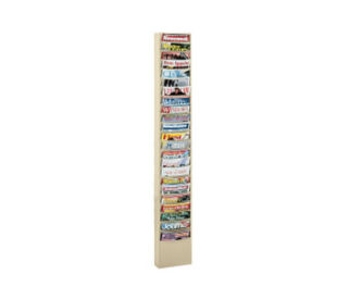 Steel Wall Literature Rack 23 Pocket, D33001