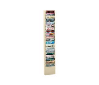 Steel Wall Literature Rack 20 Pocket, D33004