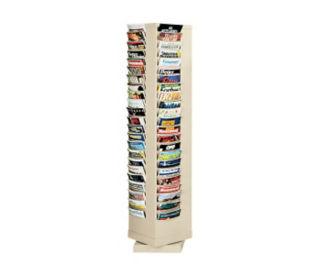 Steel Rotary Literature Rack 92 Pocket, D33012