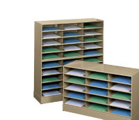 Literature Rack 30 Openings with Base, D33050