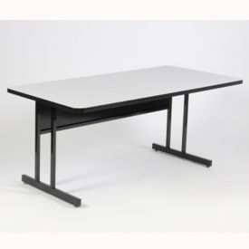 "Desk Height Table 48"" x 24"", E10132"
