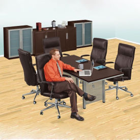 "At Work 72"" Conference Table with Storage Options Set, C90367"