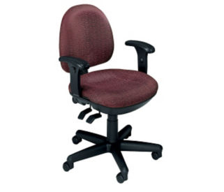 Lowback Chair with Arms, C80290